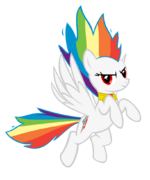 Super Rainbow Dash by geogo999