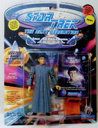 Playmates 1994 Data as Romulan