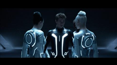 Tron Legacy (2010) - Clip Sirens Dress Sam