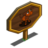 Fall Calf Mastery Sign-icon
