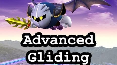 SSBB Advanced Meta Knight Gliding Techniques & Tricks