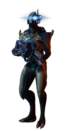 ME3 Geth Trooper MP