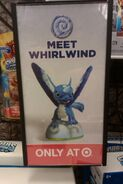 Skylanders Spyros Adventure Whirlwind limited exclusive