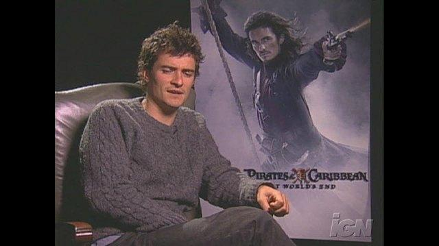 Pirates of the Caribbean At World's End Movie Interview - Orlando Bloom