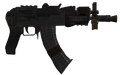 AK-74u Third Person MW3