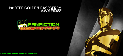 BTFF Golden Raspberry Award 2012 Invite