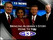 WVTM-TV NBC 13 News at 10 promo video from 2005-2006