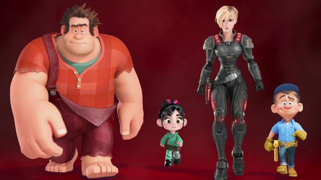 Wreck-It Ralph - Voice Cast Featurette