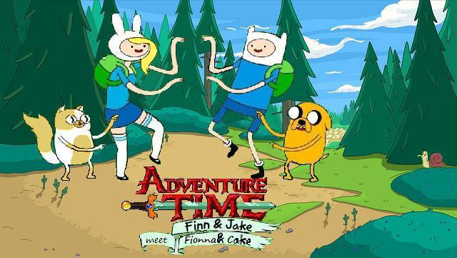 adventure time finn and jake meet fionna cake fan fiction