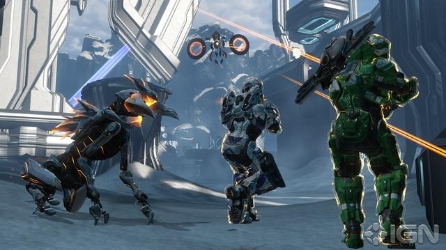"Halo 4 ""Meltdown"" Multiplayer Map Walkthrough With 343i"