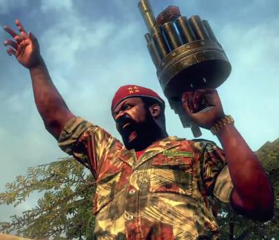 Black Ops 2 Jonas Savimbi