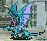 Heath as a Wyvern Rider