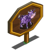 Crystal Cow Mastery Sign-icon