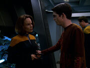 Icheb talks to B'Elanna