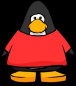 Camisa vermelha ID 206 a partir de um Card Player