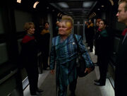 Neelix leaves Voyager