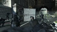 SAS securing truck Mind the Gap MW3