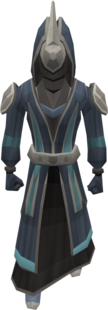 Soulbell robe set equipped