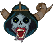 Lich Head with Rims