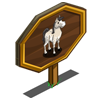 Cream Stallion Mastery Sign-icon