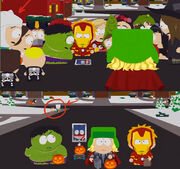 Reference to AT in South Park