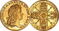 Great britain guinea 1714