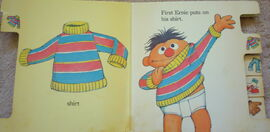 Ernie gets dressed 3