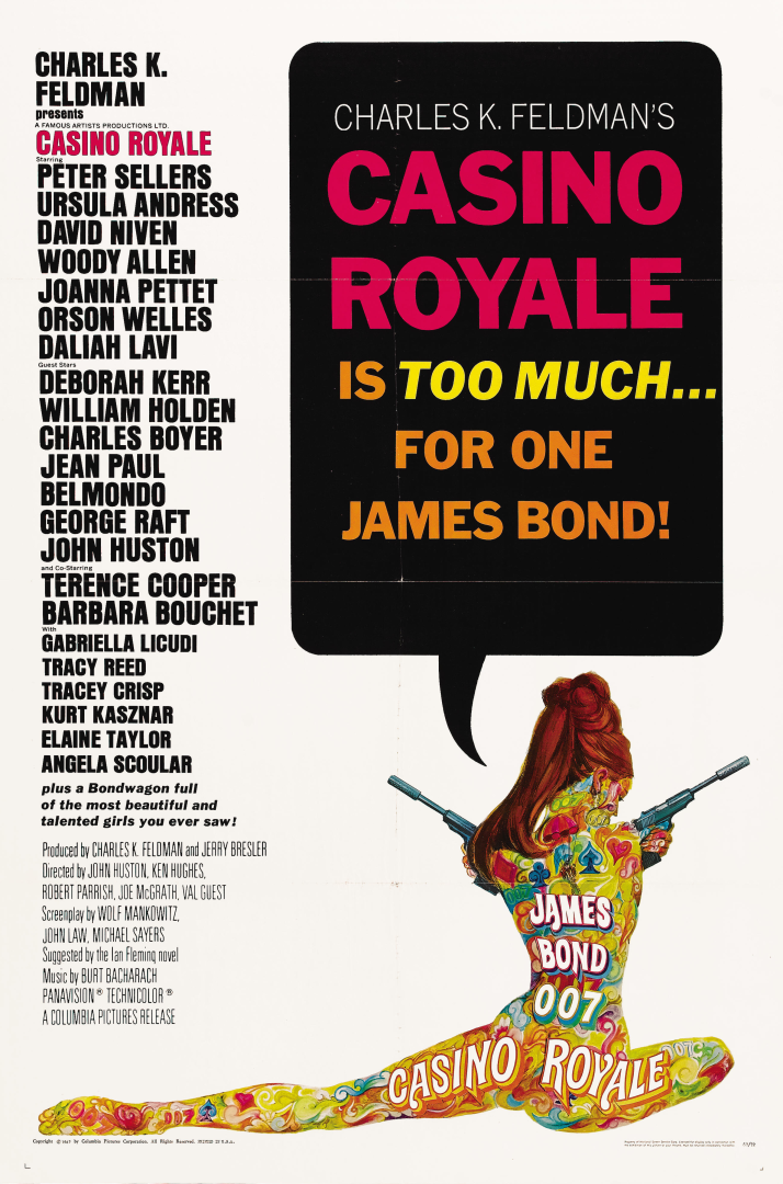 james bond 1967 casino royale