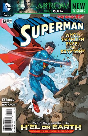 Cover for Superman #13