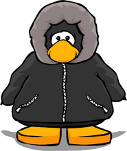 Black Parka from a Player Card