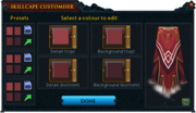 Completionist cape customiser