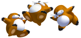 Monty Moles, New Super Mario Bros. U