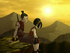 Sokka and Toph