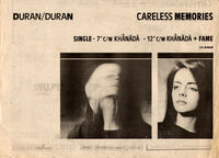 Careless memories single wikipedia duran duran advert
