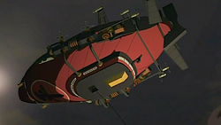 Equalist airship underside