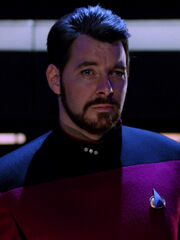 Riker in einer alternativen Zeitlinie