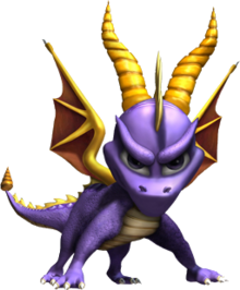 Spyro (Spyro Enter the Dragonfly)