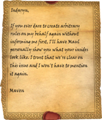 Note from Maven