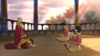 Korra fails at meditating
