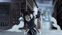 Korra waterbends