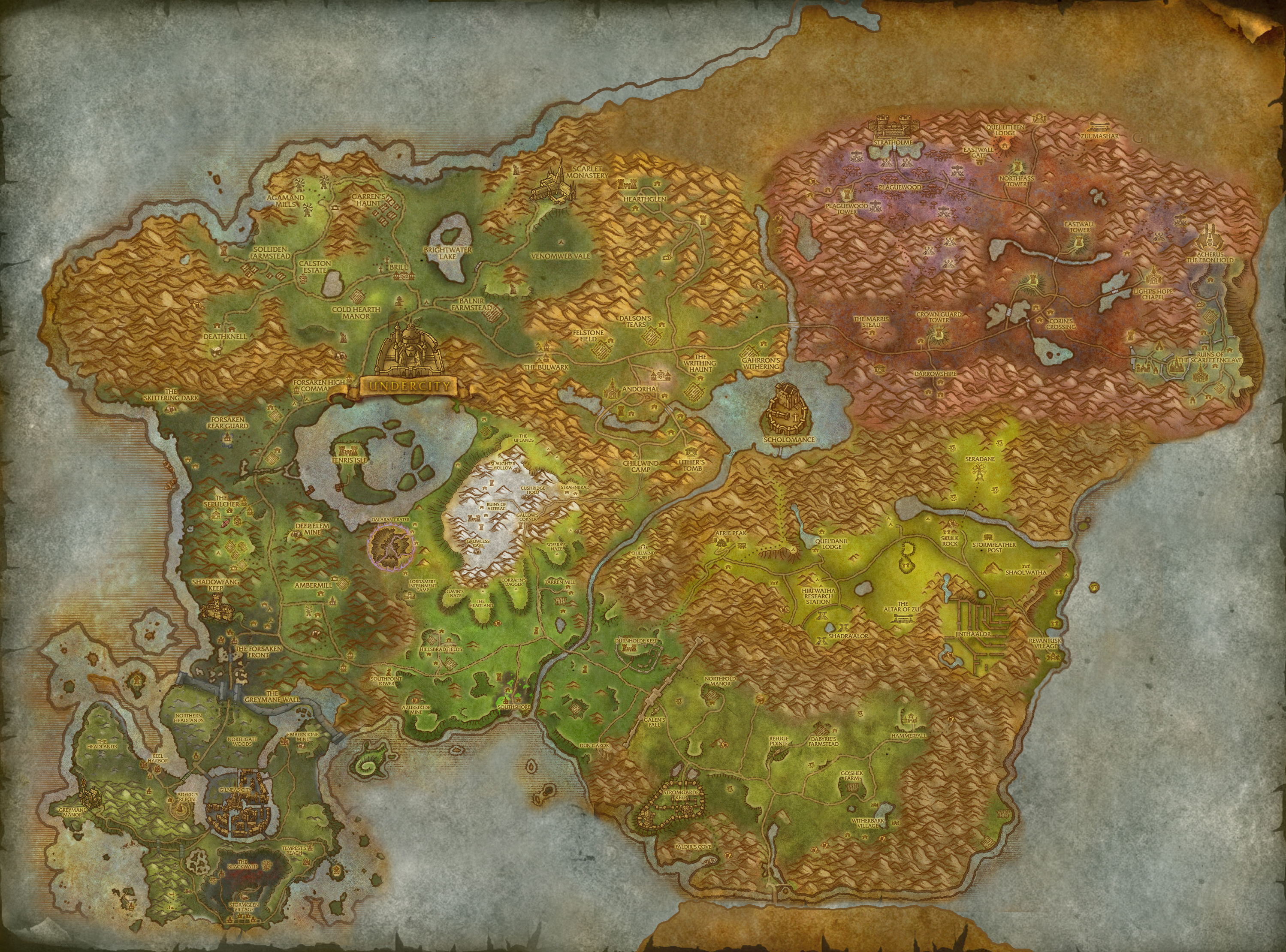 Possible to retrace Arthas footsteps in Lordaeron? - World of ...