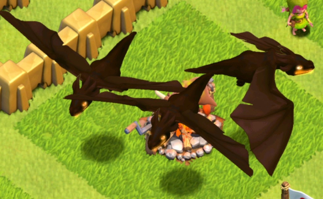 level 5 dragons clash of clans wikipedia