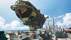 Police airship