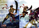 Dynasty Warriors 4 Artwork - Gan Ning