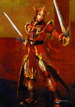Dynasty Warriors 4 Artwork - Lu Xun