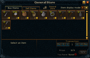 General Store (Canifis) stock