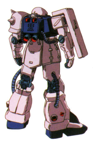 MS-06F-2(ZAKU II F2) back