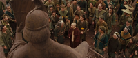 Film - Aang with Kyoshi villagers