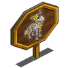 Spring Donkey Foal Mastery Sign-icon
