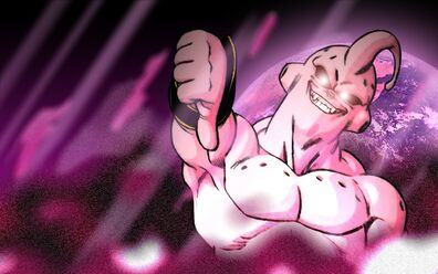 Super Buu touch-up 2